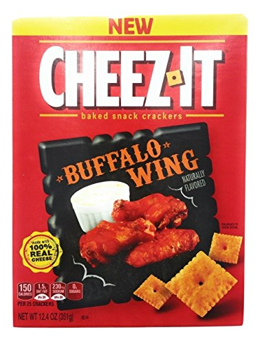Its Wings - CheezIt Snack Crackers 12.4oz Buffalo Wing Flavored