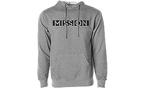 Mission Men's Pullover Fleece Hoodie