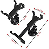 Dealgadgets-360-degrees-Adjustable-Car-Mount-Holder-for-7-10-Inches-Ta1blets-Samsung-Galaxy-Tab-3-4-pro-note-708084101-Sony-Xperia-ZZ2-Tablet-iPad-Airmini1-2-3-4-Kindle-Fire-HD-7-89HDX-7-89-etc-Free-C