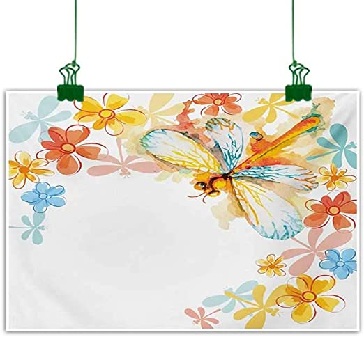 GRUNGE BUTTERFLIE CANVAS PICTURE PRINT WALL HANGING ART HOME DECOR FREE DELIVERY