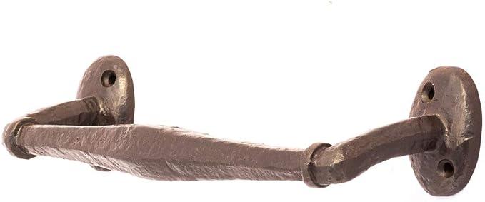 Antikas - manillon puerta de casa - tirador de hierro como antiguo - manillon herraje forjado - asideros puerta: Amazon.es: Bricolaje y herramientas
