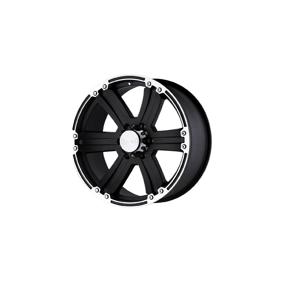 Black Rhino Wheels Dune Series Matte Black Wheel with Machined Lip (20x9/6x139.7mm)
