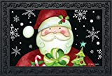 Briarwood Lane Here Comes Santa Christmas Doormat Presents Holiday Indoor Outdoor 18' x 30'
