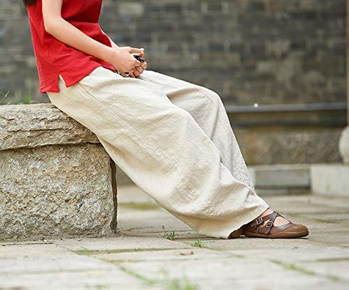 fashion Harem Casual Da Moda Pantaloni Trousers Quotidiani Lungo Unita Tinta Spiaggia Albicocca Simple Baggy Lanterna Di Yoga Vintage Pants Donne gdqwCq