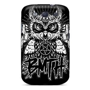 Samsung Galaxy S3 JiU10719vtJn Unique Design HD Bring Me The Horizon Band Bmth Image Durable Hard Phone Cases -JohnPrimeauMaurice