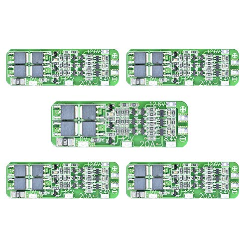 5pcs 3S 20A 12.6V Li-ion Lithium Battery 18650 Charger Protection Board PCB BMS Cell Charging Protecting Module