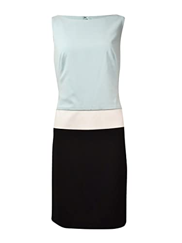 Lauren Ralph Lauren Women's Bateau Colorblocked Shift Dress