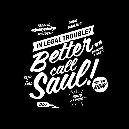 Saul Nero shirt Call T Maglietta Makaya Better Uomo HwtAqXU
