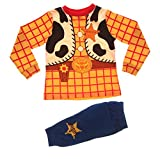 Disney Boys Kids Toy Story Woody Cowboy Pyjamas Pj Set Size UK 4-5 Years