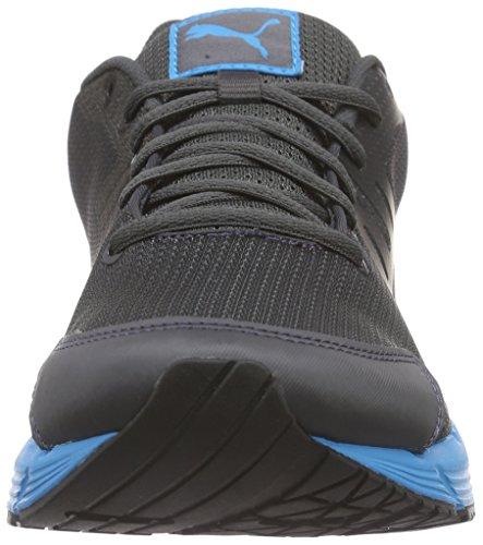 Puma Sequence V2 - Zapatillas de running Hombre Gris - Grau (asphalt-black-white 02)