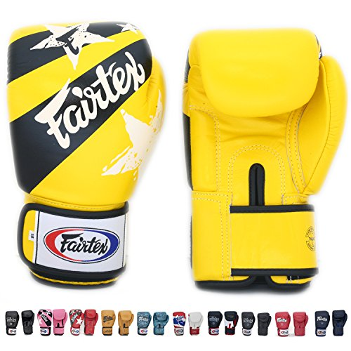 Fairtex Muay Thai Boxing Gloves BGV1 Limited Editon Nation
