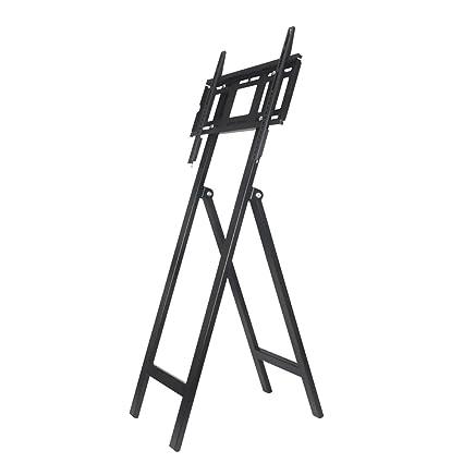 Pantalla LCD Soporte De Exhibición De Pie Mueble Móvil Publicidad De La Exposición Vertical TV Hanger