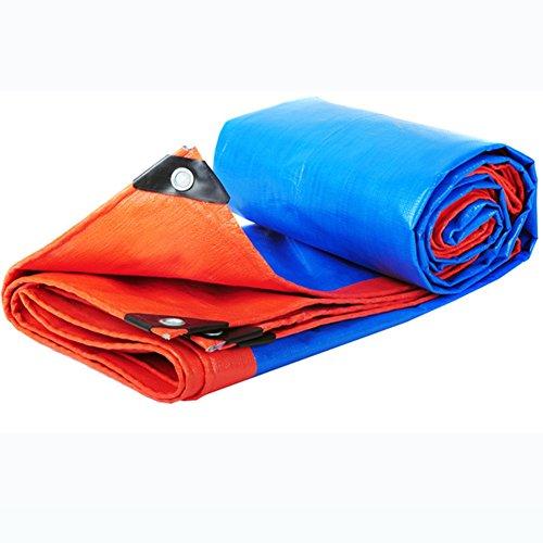 促進する有用奨学金JIANFEI サンダイアルオーニング 防雨性と耐摩耗性、耐久性に優れたポリエチレン、様々なサイズ180g/m2 0.3mm (色 : Blue, サイズ さいず : 3.8mx5.8m)