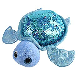 Sea Life Tortoise Stuffed Animals with Flippable Sequins