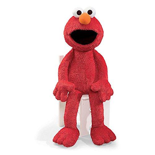 Gund Sesame Street Jumbo Elmo Stuffed Animal, 41 inches -
