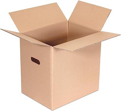 Kartox | Caja con Asa para Mudanza Extrareforzada | 40X30X40 | 10 ...