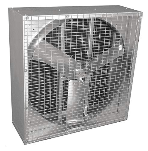 Agricultural Exhaust Fan - 115/230V Belt Drive Agricultural Exhaust Fan, 1HP