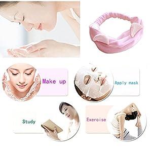 GIANCOMICS Cute Cat Ears Headband Women Girl Hairband Headwear accessories Cosplay Prop 4 Colors Set