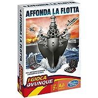 Hasbro Gaming - Affonda la Flotta Travel (Gioco in Scatola), B0995103