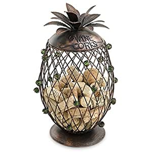 Epic Products Cork Cage Pineapple, 12-Inch