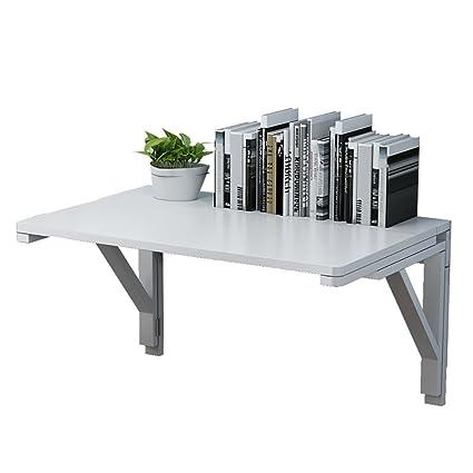 WNX Tavolo da parete Tavolo da parete in legno massello contro il ...