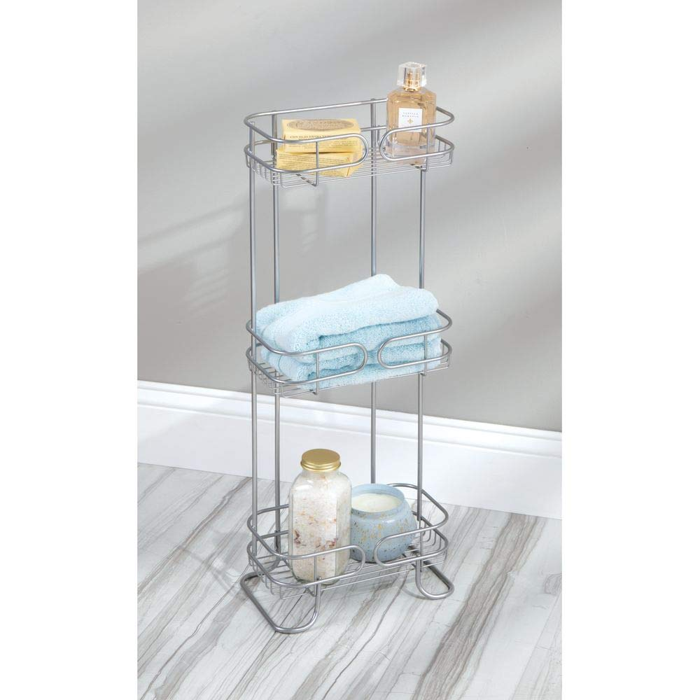 Perfekte Verarbeitung Dusch Gerade Idesign Forma Badregal Zum Hängen mattschwarz Dusch-caddy - Groß