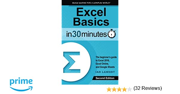 Excel Basics In 30 Minutes (2nd Edition): The quick guide to ...