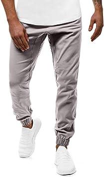 ZODOF Pantalones Hombre Pantalón Casual Hombre Pantalones Tipo ...