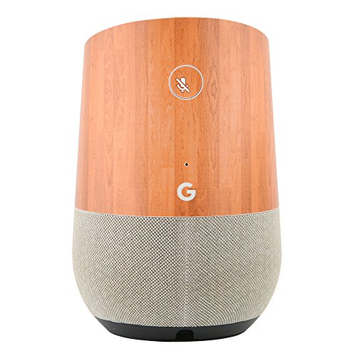 Price comparison product image YutaoZ New Protective Skin For Google Home, Wood Grain