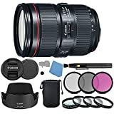 Canon EF 24–105mm f/4L IS II USM Lens Includes 3 Piece Filter Kit , Micro Fiber Cloth With Spray