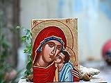 Holy Mother of Mercy Theotokos Eleousa- Madonna and Child orthodox catholic gift