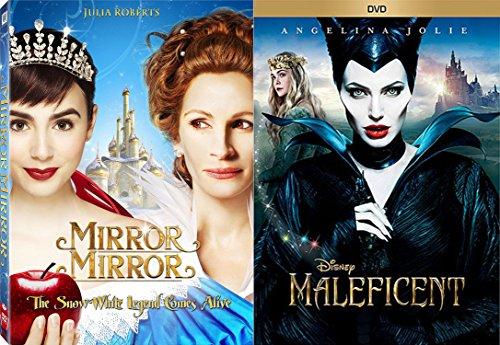 Evil Queen Collection - Maleficent & Mirror Mirror 2-DVD Bundle