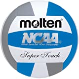 Molten Women's NCAA Super Touch Volleyball (Royal/Silver/White, Official) by Molten