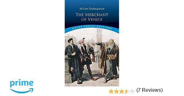 The Merchant of Venice: William Shakespeare: 9780486284927
