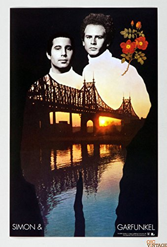 Simon and Garfunkel Poster 2001 Columbia Recordings Box Set Promo 11 x 17