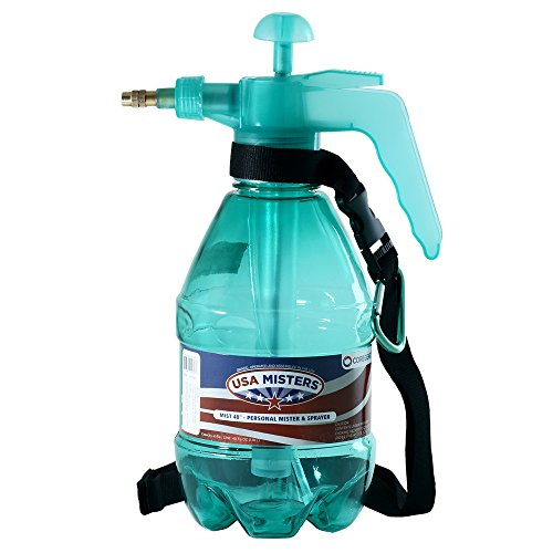 COREGEAR USA Misters 1.5 Liter Personal Water Mister Pump Spray Bottle (Teal)