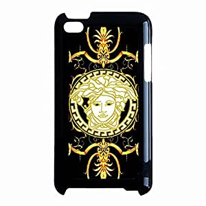 Superior Golden Pattern Versacee Phone Case Prevailing Cover Case For Ipod Touch 4th Generation