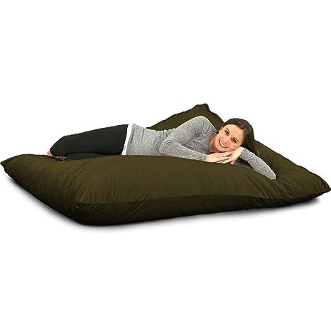 Amazon.com: Ultimate saco Ultimate almohada: gigante espuma ...