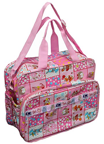 Annapurna Sales Baby Diaper Bag for Mother or Baby Accessories Bag – Pink  Unisex