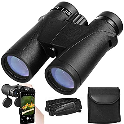 Compact Binoculars for Adults, 8 X 32/Wide Angle/Waterproof/Phase Coated Roof Prism, Professional Hunting Bird Watching Binocular
