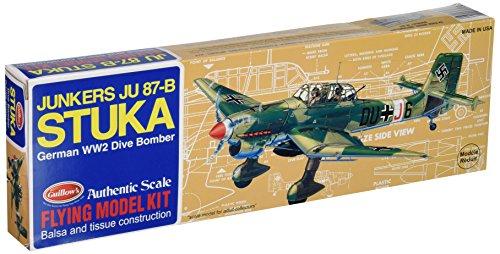 Guillows Sopwith Camel - Guillow's Junkers JU 87-B Stuka Model Kit