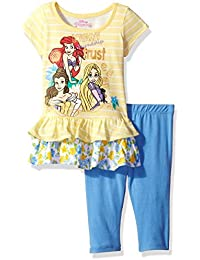 Toddler Girls' 2 Piece Princesses Legging Set