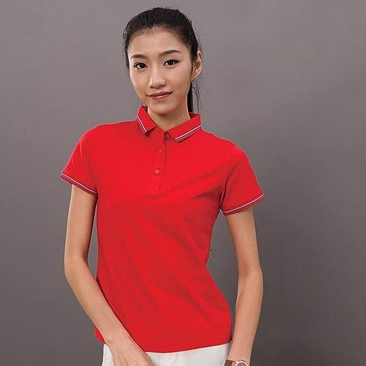 Lxfmz Polos de Golf para Hombres Summer Dry Fit Short Fashion ...