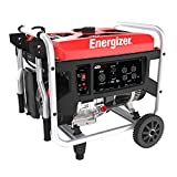Energizer EZG6250, 5500 Running Power 6250 Peak Power, Portable, Heavy Duty, Gas Powered Generator, CARB Approved