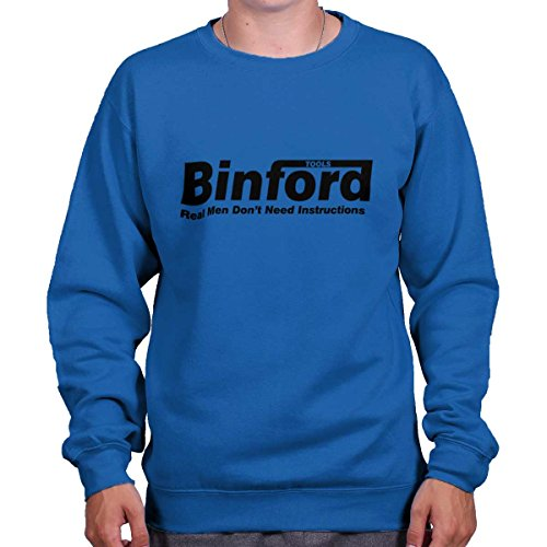 Brisco Brands Binford Home Improvement Funny Shirt Cool Tim Allen Toolman Sweatshirt