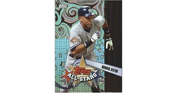 Amazon.com: 2005 Topps All-Stars Baseball Card #13 Derek Jeter Near Mint/Mint: Collectibles & Fine Art