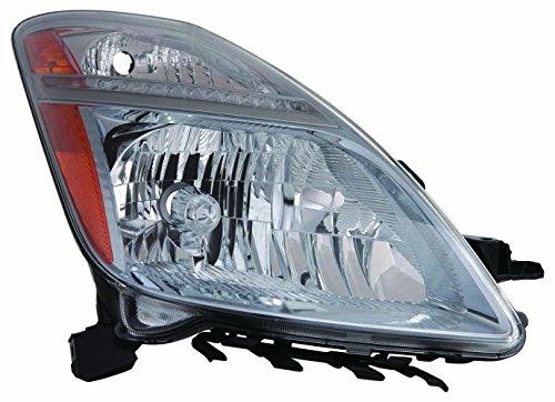 Toyota Prius 06-09 Headlight Unit with HID Type RH USA Passenger (Hid Headlight Assembly)