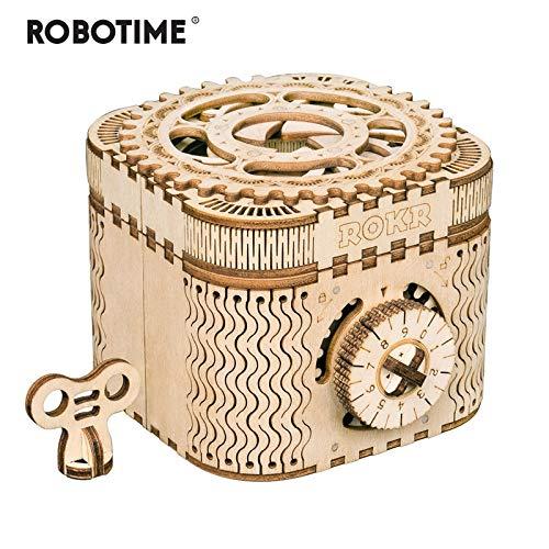 【国産】 Robotime クリエイティブ DIY 3D B07QKNRQ22 宝箱 DIY & 3D カレンダー木製パズルゲームアセンブリのおもちゃのギフト子供ティーン大人 LK502パズル 幼児cr-ファ B07QKNRQ22, 飯南郡:0c4d2629 --- a0267596.xsph.ru
