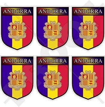 """ANDORRA andorran Shield la Vella 40 mm (1,6 """") Funda para"""