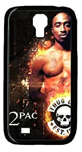 2PAC Rectangle Personalized Protective Case for Galaxy S4 by LZHCASE by icecream design